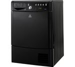 INDESIT Ecotime IDCE8450BKH Condenser Tumble Dryer - Black