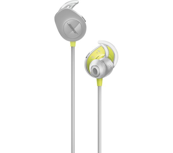 Image of BOSE SoundSport Wireless Bluetooth Headphones - Citron