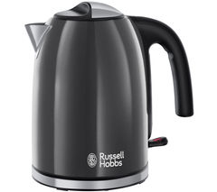 RUSSELL HOBBS Colour Plus 20414 Jug Kettle - Grey