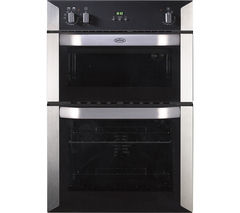 BELLING BI90FP Electric Double Oven - Stainless Steel