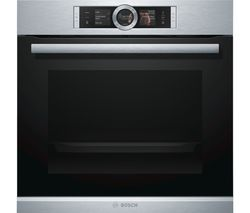 BOSCH Serie 8 HRG6769S6B Electric Smart Oven - Stainless Steel