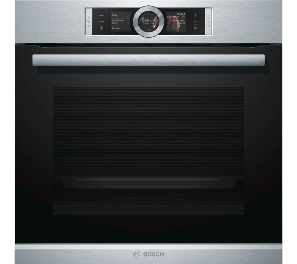 Buy Bosch Serie 8 Hrg6769s6b Electric Smart Oven