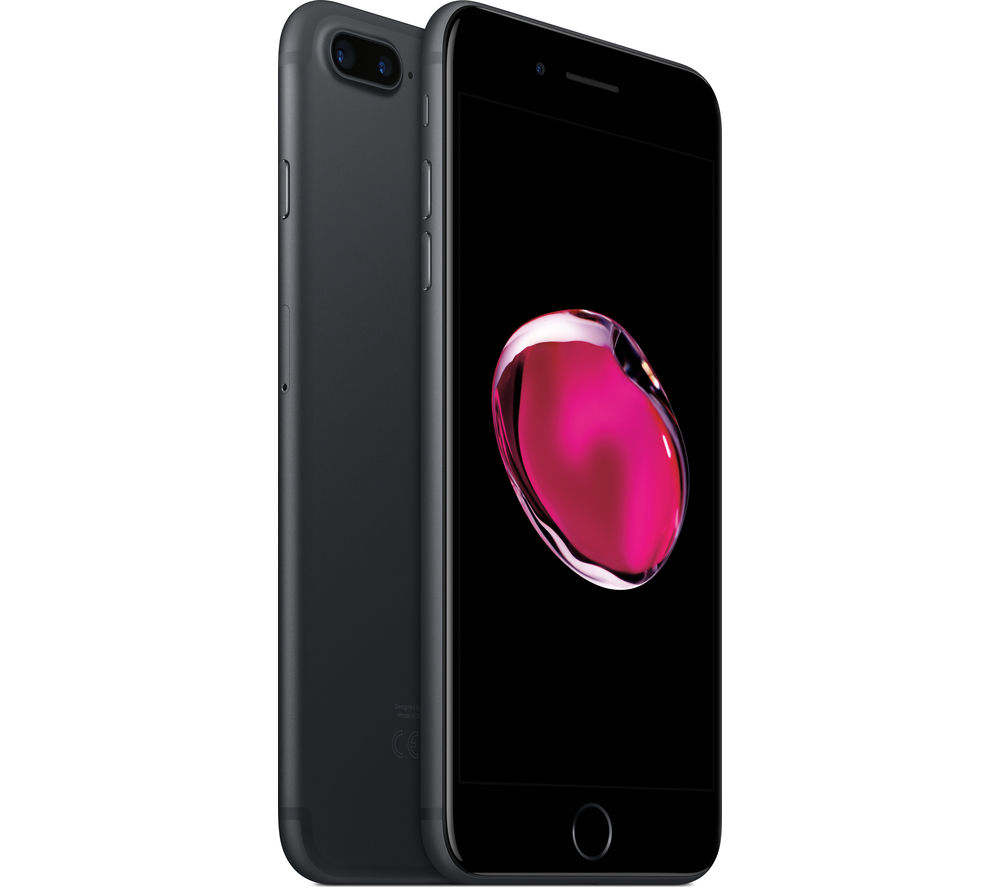 APPLE iPhone 7 Plus - Black, 128 GB