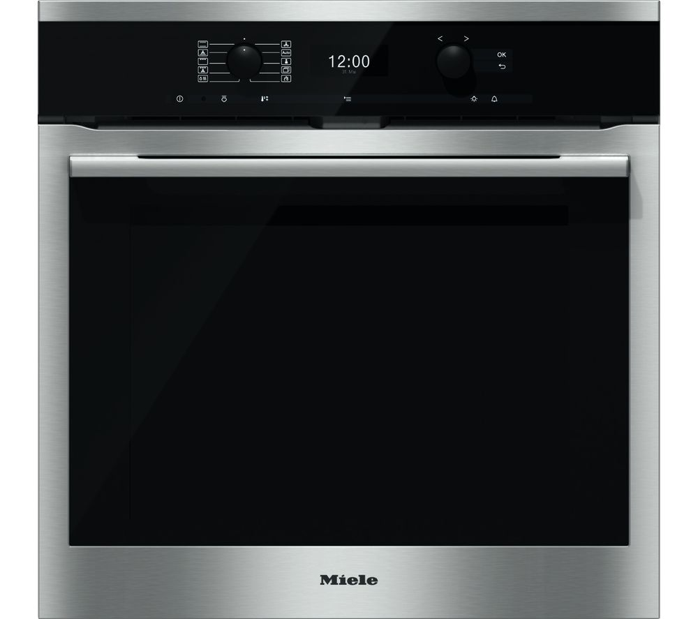 MIELE H6360BP Electric Oven - Stainless Steel