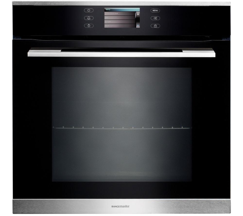 RANGEMASTER RMB610PBL/SS Electric Oven - Black