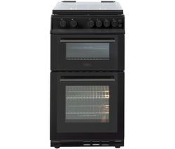 BELLING FS50GTCL 50 cm Gas Cooker - Black