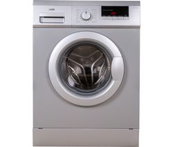 LOGIK L612WMS17 6 kg 1200 Spin Washing Machine - Silver
