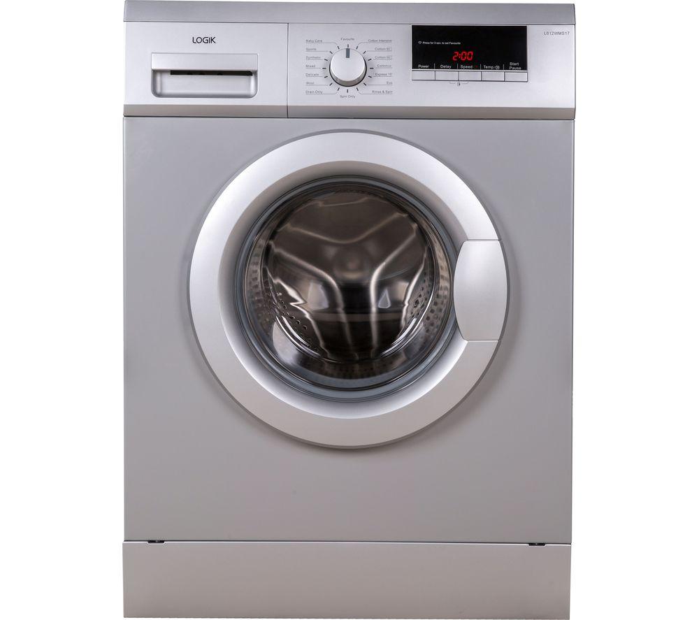 Buy LOGIK L612WMS17 6 Kg 1200 Spin Washing Machine
