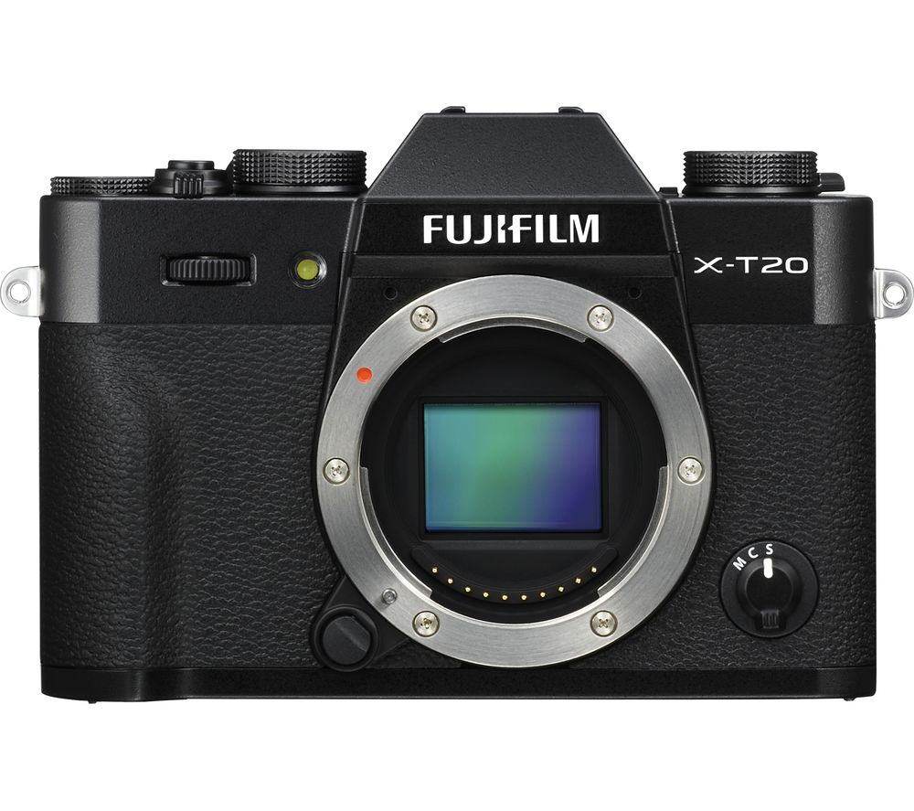 FUJIFILM X-T20 Mirrorless Camera - Body Only