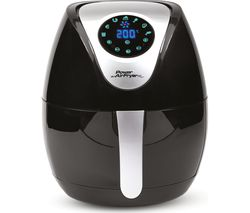 XL Health Fryer - 3.2 Litres, Black