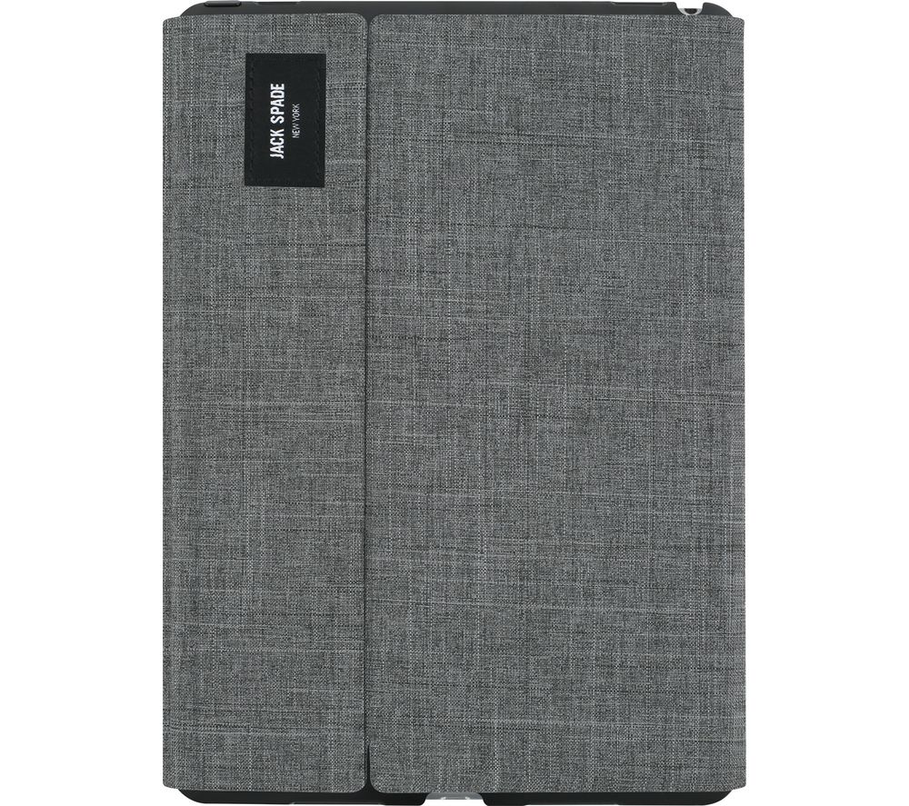 "JACK SPADE Tech Oxford iPad Pro 9.7"" Folio Case - Grey"