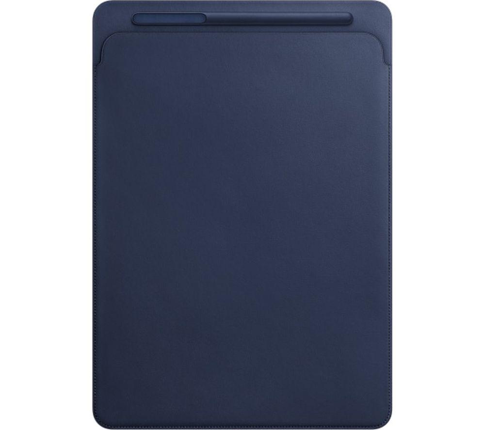 """APPLE 12.9"""" iPad Pro Leather Sleeve - Midnight Blue"""