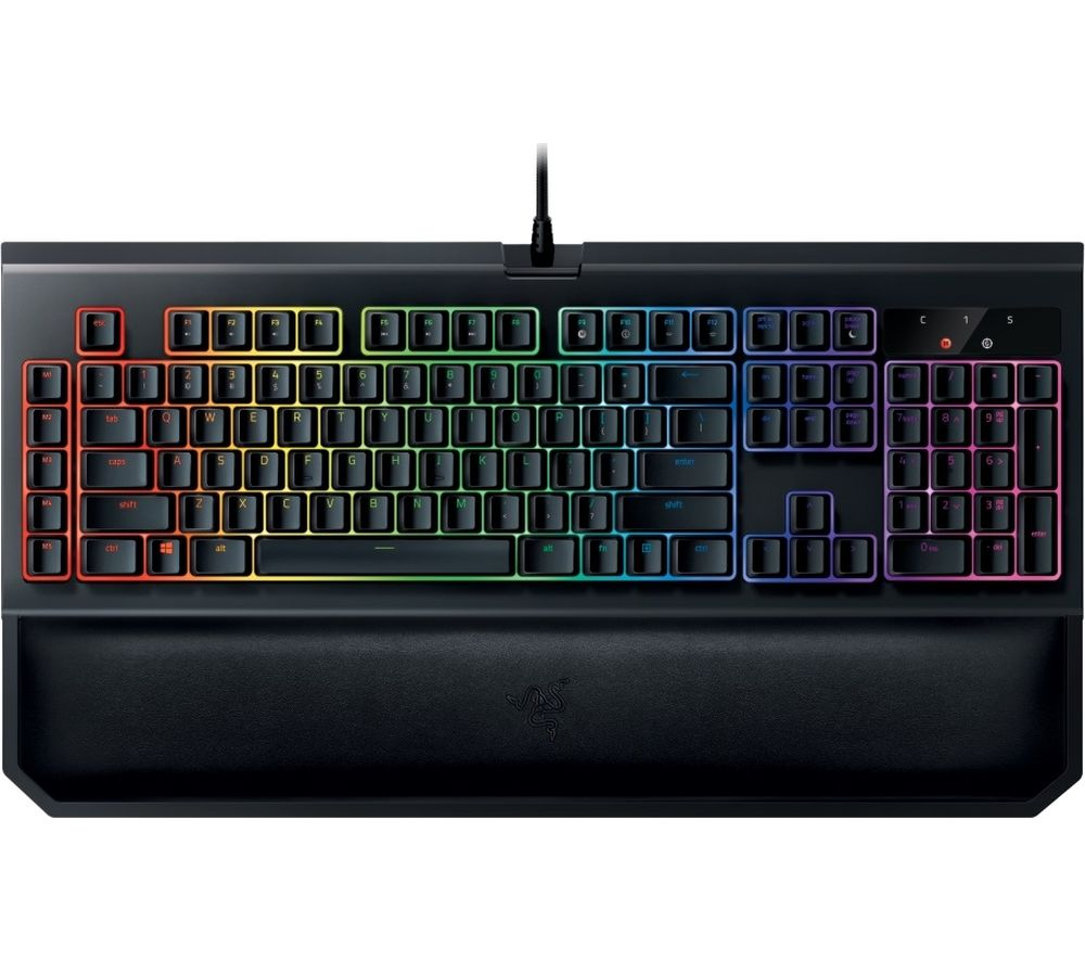 RAZER BlackWidow Chroma V2 Mechanical Gaming Keyboard - Orange Switches