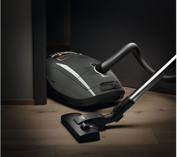 buy miele complete c3 boost ecoline cylinder vacuum cleaner grey free delivery currys. Black Bedroom Furniture Sets. Home Design Ideas