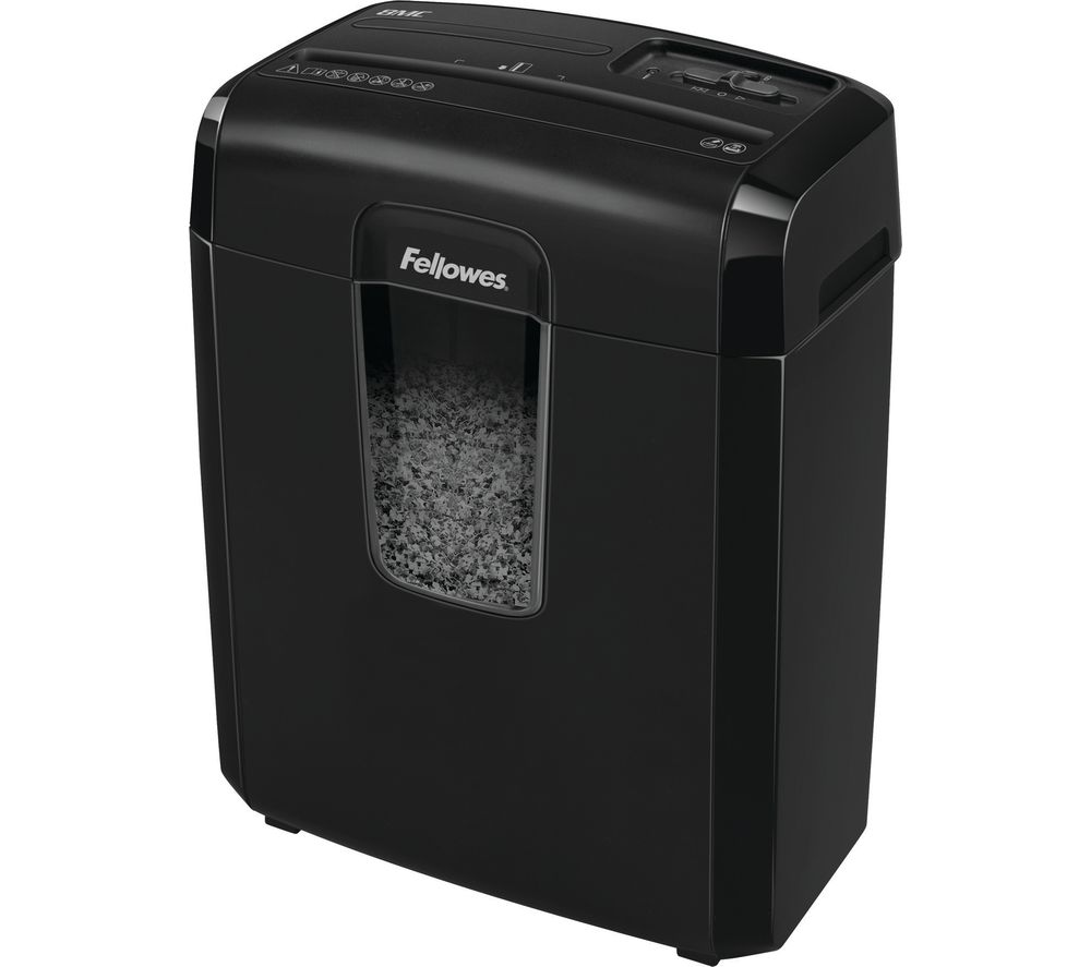FELLOWES Powershred 8MC Micro Cut Paper Shredder