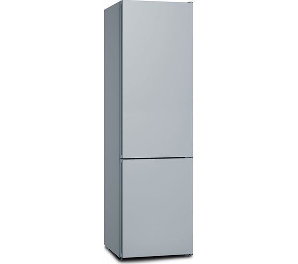 Image of BOSCH Serie 4 KGN39IJ3AG 60/40 Fridge Freezer - Chrome