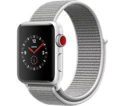 APPLE Watch Series 3 Cellular - Grey Sport, 38 mm