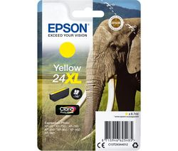 EPSON Elephant 24XL Yellow Ink Cartridge