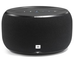 JBL Link 300 Wireless Voice Controlled Speaker - Black