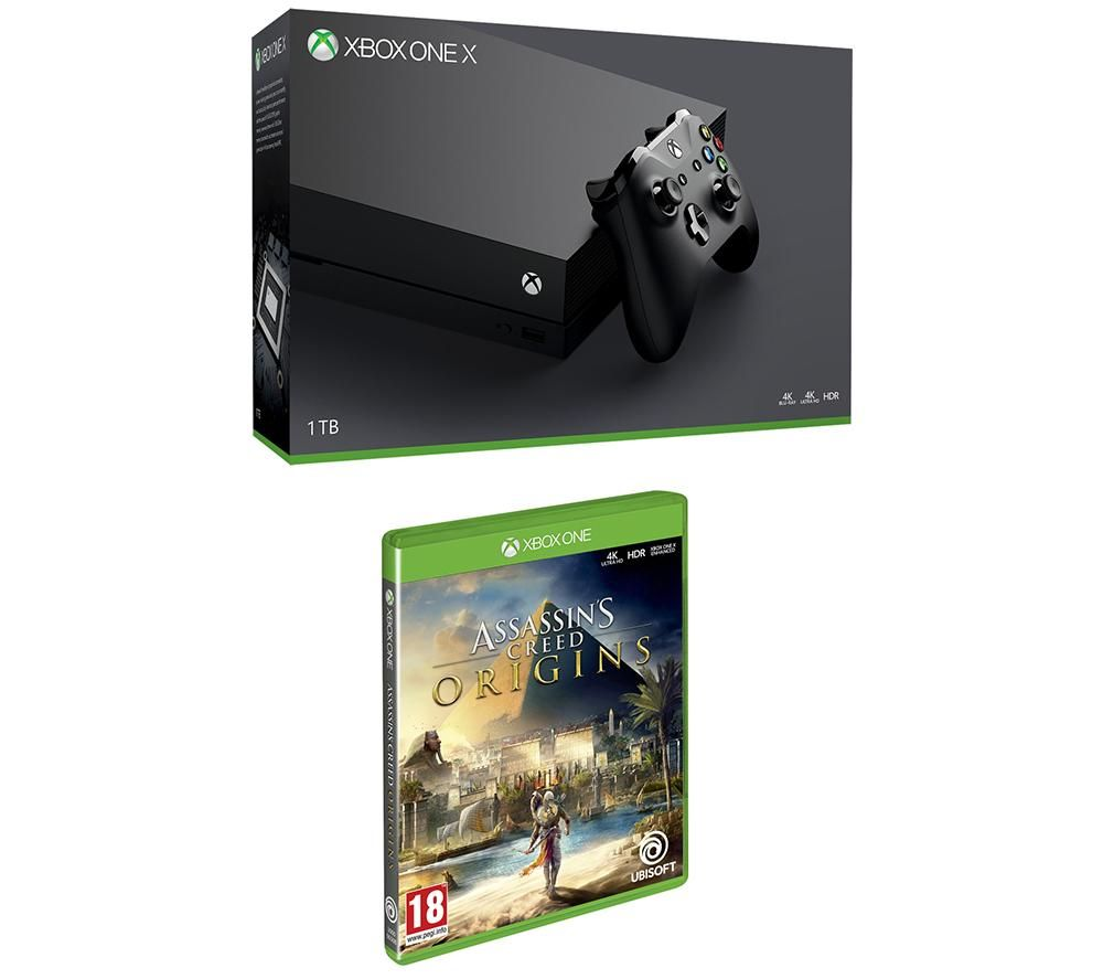 Compare cheap offers & prices of Microsoft Xbox One X with Game Bundle manufactured by Microsoft