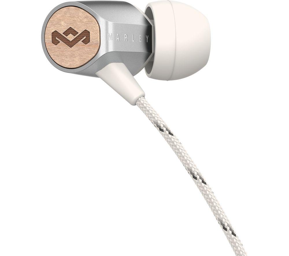 HOUSE OF MARLEY Uplift 2 Headphones - Silver