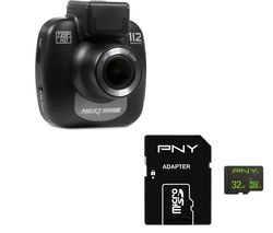 NEXTBASE 112 Lite Dash Cam & 32 GB High Performance Class 10 microSD Memory Card Bundle