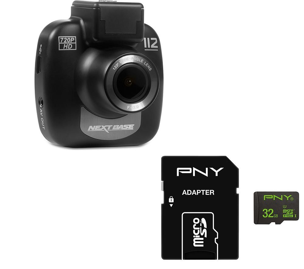 NEXTBASE 112 Lite Dash Cam & 32 GB High Performance Class 10 microSD Memory Card Bundle specs