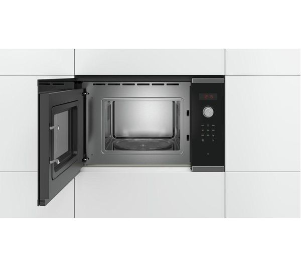 Bosch Serie 4 Bfl523ms0b Built In Solo Microwave Stainless Steel