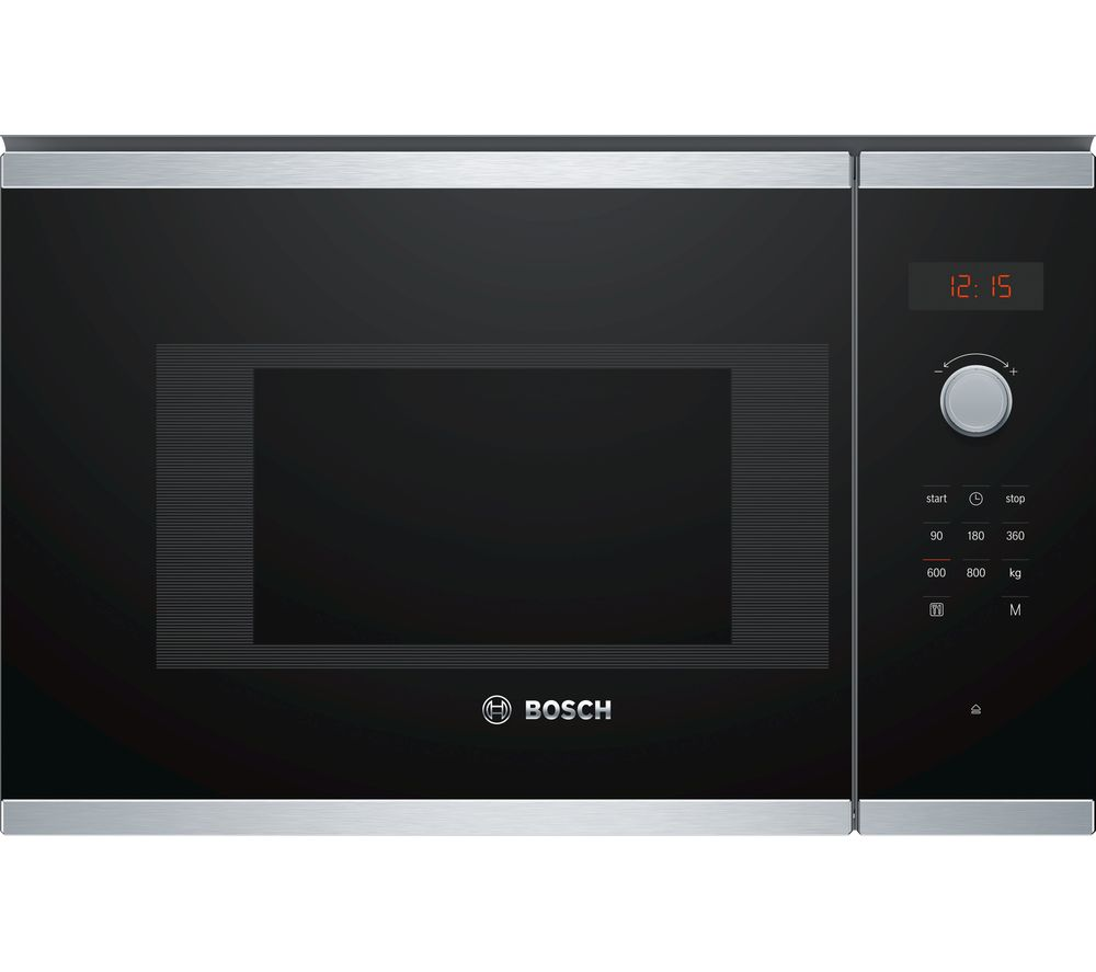 buy bosch serie 4 bfl523ms0b built in solo microwave. Black Bedroom Furniture Sets. Home Design Ideas