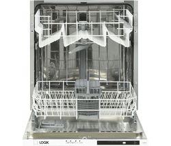 LOGIK LID60W18 Full-size Fully Integrated Dishwasher