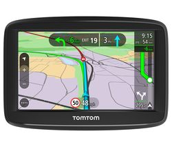 "TOMTOM VIA 52 5"" Sat Nav with Case - Full Europe Maps"