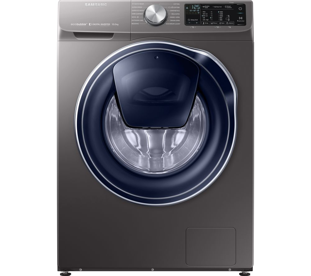 SAMSUNG AddWash WW10N645RPX/EU Smart 10 kg 1400 Spin Washing Machine - Graphite