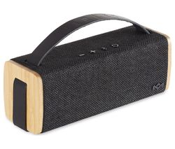HOUSE OF MARLEY Riddim EM-JA012-SB Portable Bluetooth Speaker - Black