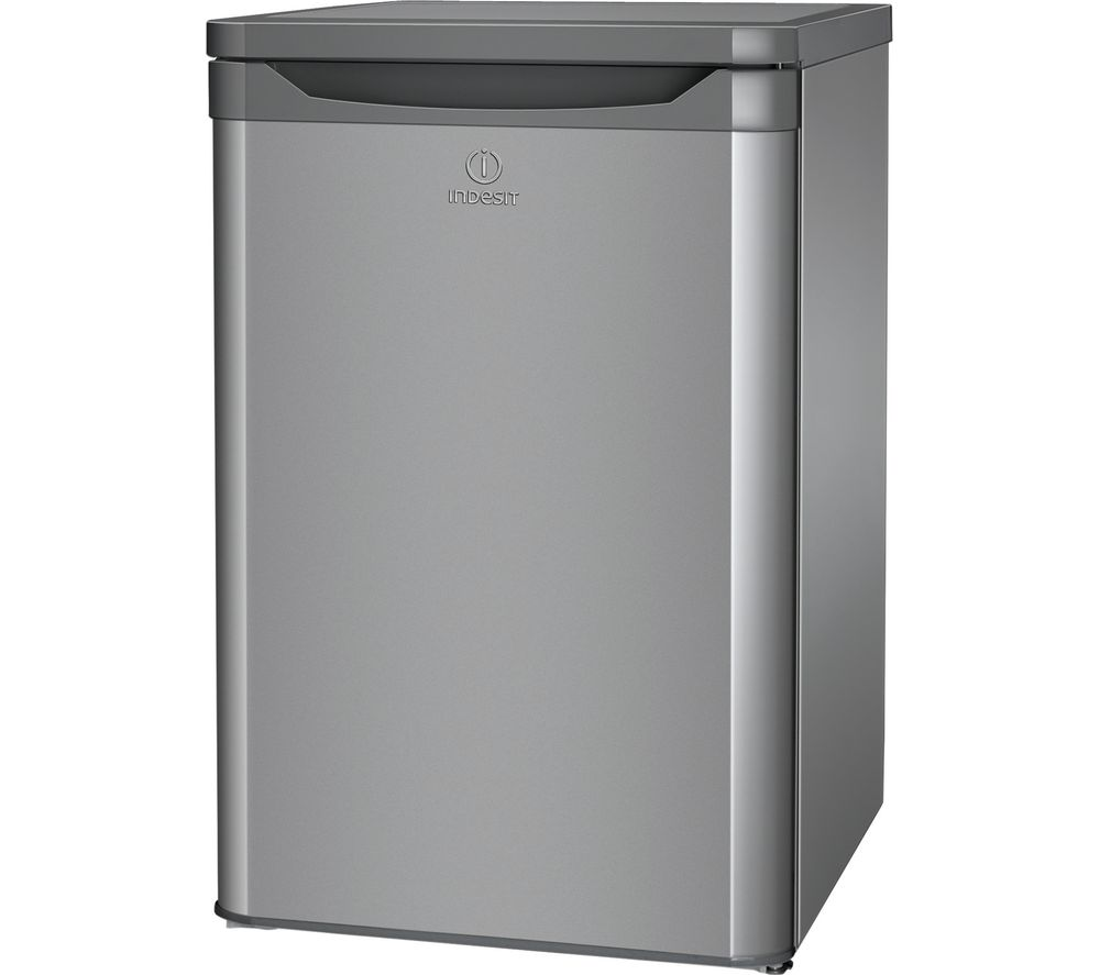 INDESIT TFAA 10 SI (UK).1 Undercounter Fridge - Silver