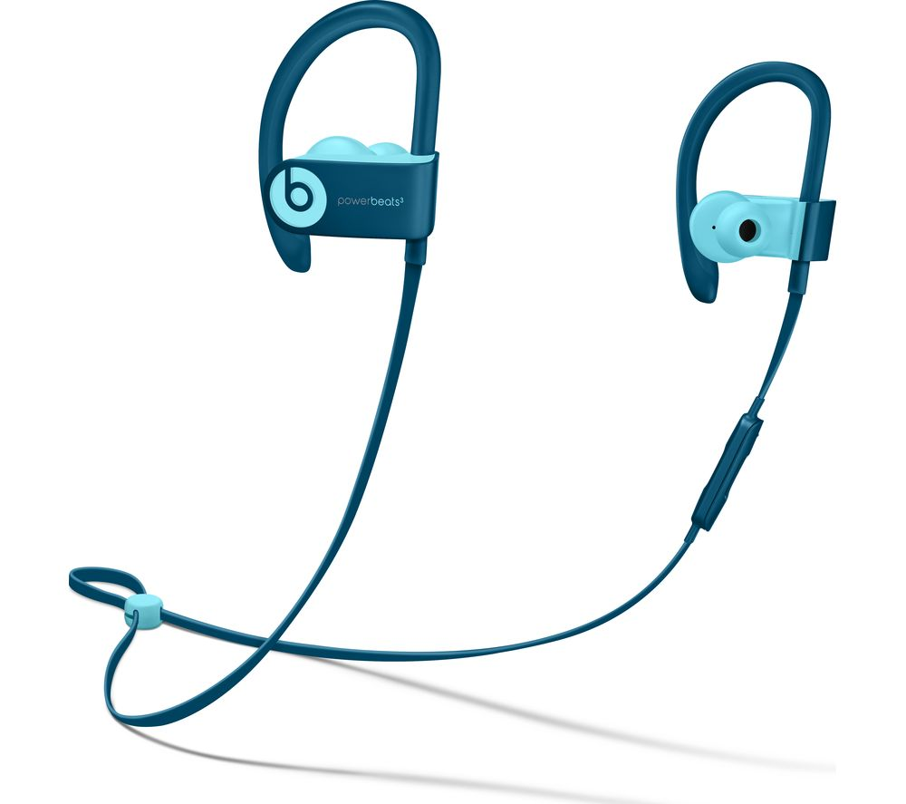 BEATS PowerBEATS3 Wireless Bluetooth Headphones – Blue, Blue