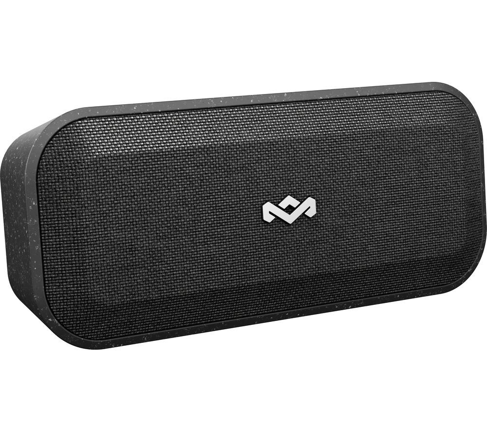 Image of House Of Marley No Bounds XL Portable Bluetooth Speaker - Black, Black