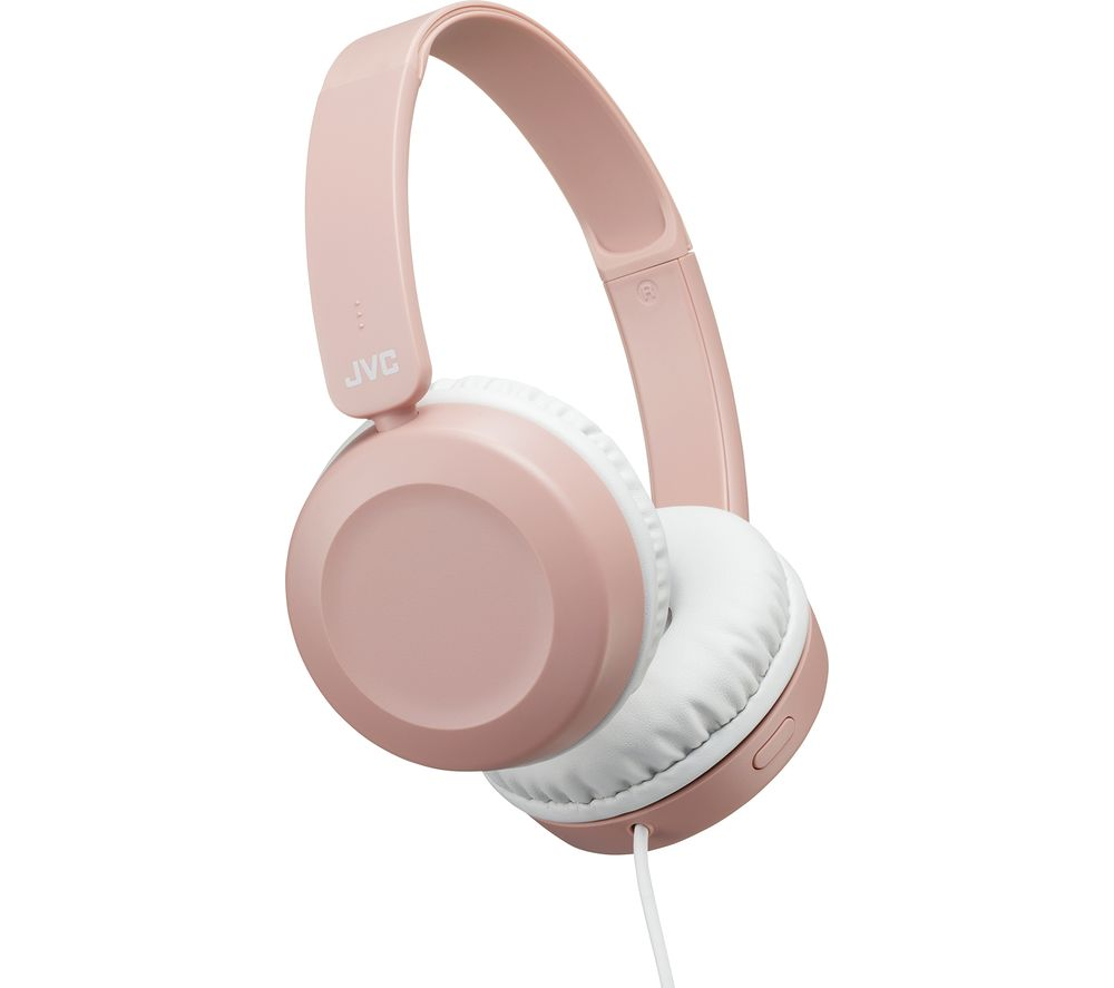 JVC HA-S31M-P-E Headphones - Pink