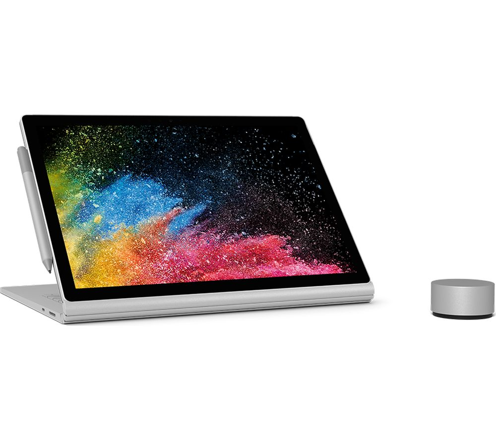 MICROSOFT Surface Book 2 Intel® Core™ i7, Surface Dial & Surface Pen Bundle - 256 GB