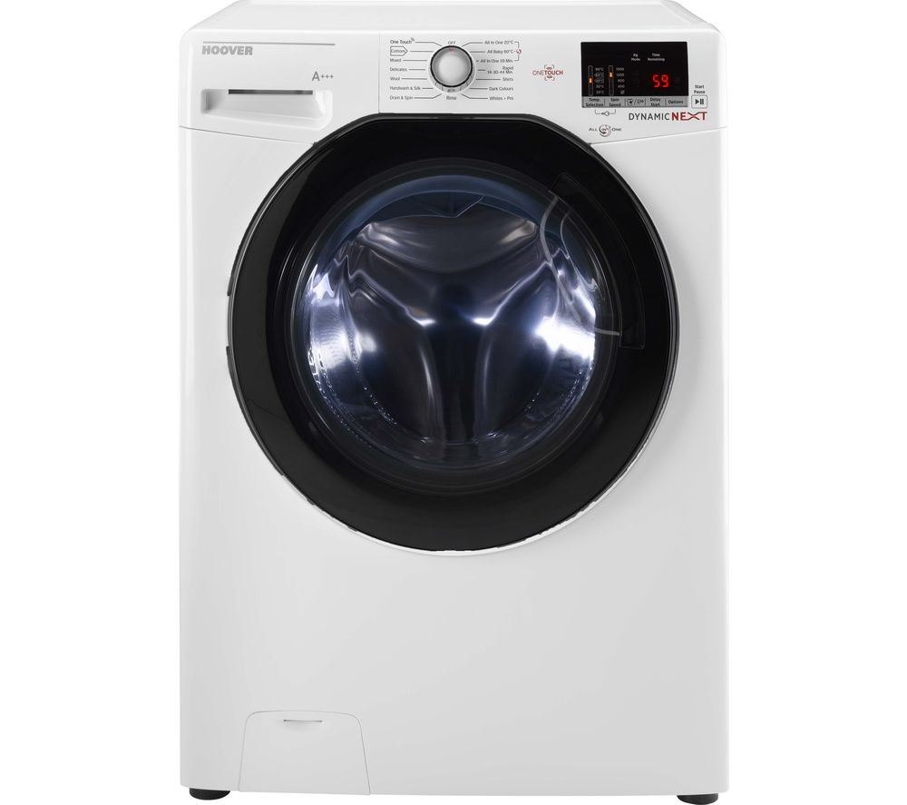 Dynamic DXOC 610AFN3 NFC 10 kg 1600 Spin Washing Machine - White, White