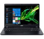 £499, ACER Aspire 5 A515-43 15.6inch AMD Ryzen 5 Laptop - 256 GB SSD, Black, Achieve: Fast computing with the latest tech, Windows 10, AMD Ryzen 5 3500U Processor, RAM: 8GB / Storage: 256GB SSD, Full HD display,