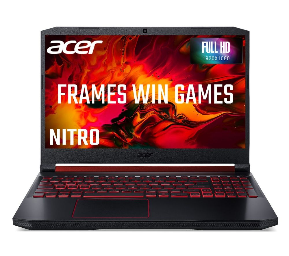 "ACER Nitro 5 15.6"" Gaming Laptop - AMD Ryzen 5, RX 560X, 1 TB HDD"