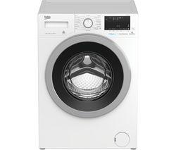 BEKO Pro WX840430W Bluetooth 8 kg 1400 Spin Washing Machine - White