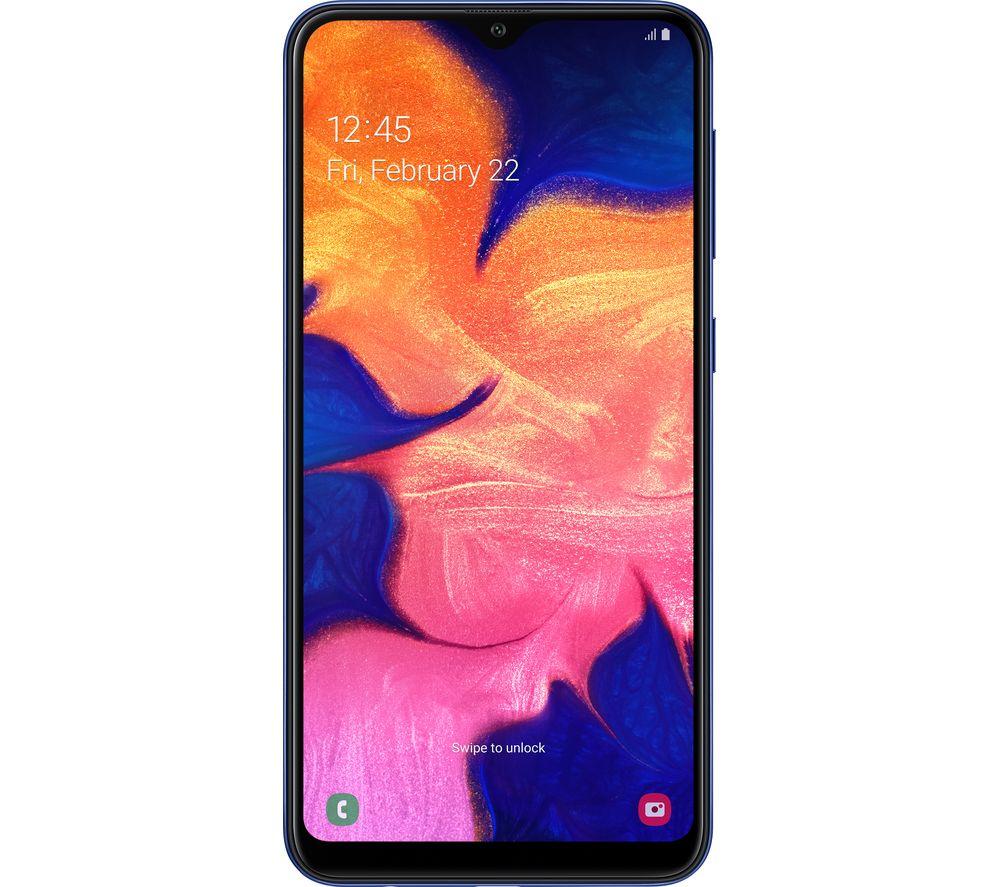 SAMSUNG Galaxy A10 - 32 GB, Blue