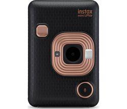 INSTAX LiPlay Digital Instant Camera - Black