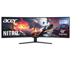 """ACER Nitro EI491CRP Full HD 49"""" Curved LCD Gaming Monitor - Black"""