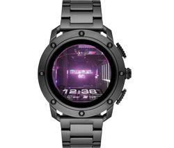 DIESEL AXIAL DZT2017 Smartwatch - Gunmetal, Steel strap