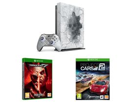 MICROSOFT Limited Edition Gears 5 Xbox One X, Tekken 7 & Project Cars 2 Bundle