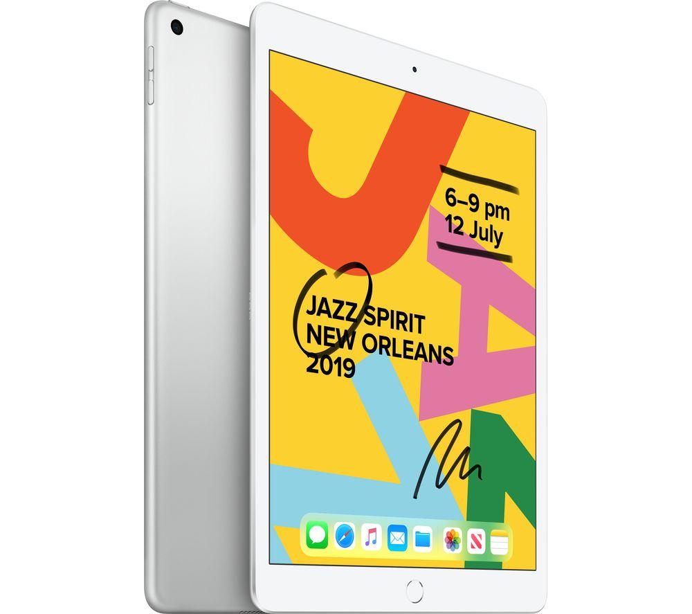 "APPLE 10.2"" iPad (2019) - 128 GB, Silver"