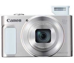 PowerShot SX620 HS Superzoom Compact Camera with 32 GB SDHC Class 10 Card & Case - White