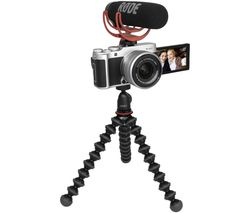X-A7 Mirrorless Camera with FUJINON XC 15-45 mm f/3.5-5.6 OIS PZ Lens Vlogger Kit